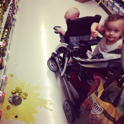 DAD'S IN DEEP SH!T #25:  Clean Up On Aisle Two.