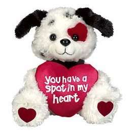 heart stuffed animal