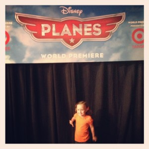 Ava Planes World Premiere sign