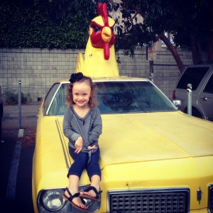 Avas chickenhead car