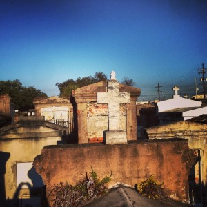 St. Louis Cemetery 1 in NOLA