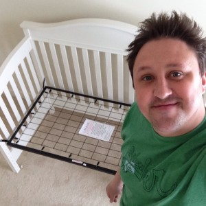 Eddie Bauer Target mid crib assembly