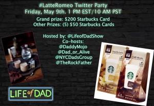 LoD Starbucks Twitter party V2