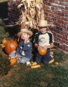 Adrian and Eric love Halloween