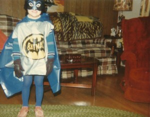 Adrian as batman halloween