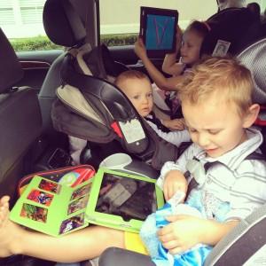 Threesome road trip unfurled