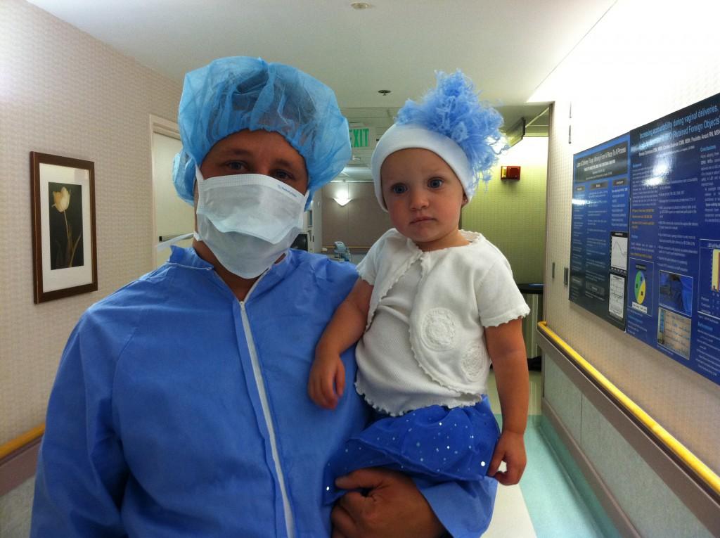 adrian and ava at charlies birth