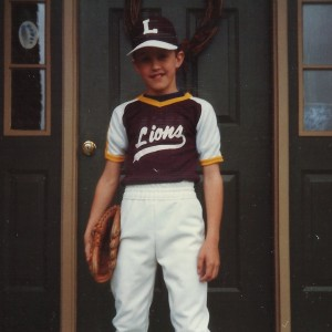 Adrian in Lions uniform