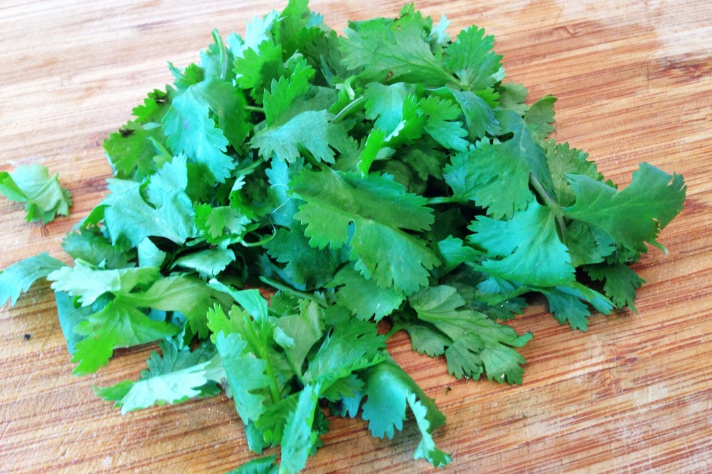 Add cilantro for guac 10