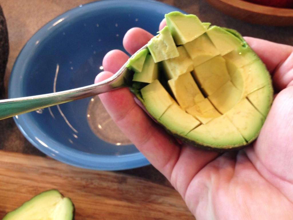 Cutting Avocados 3