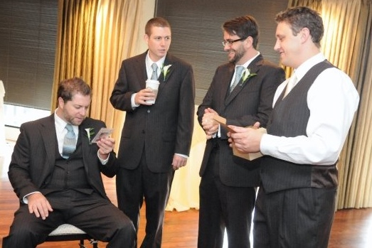 Larson Krick Jeff and Adrian at wedding