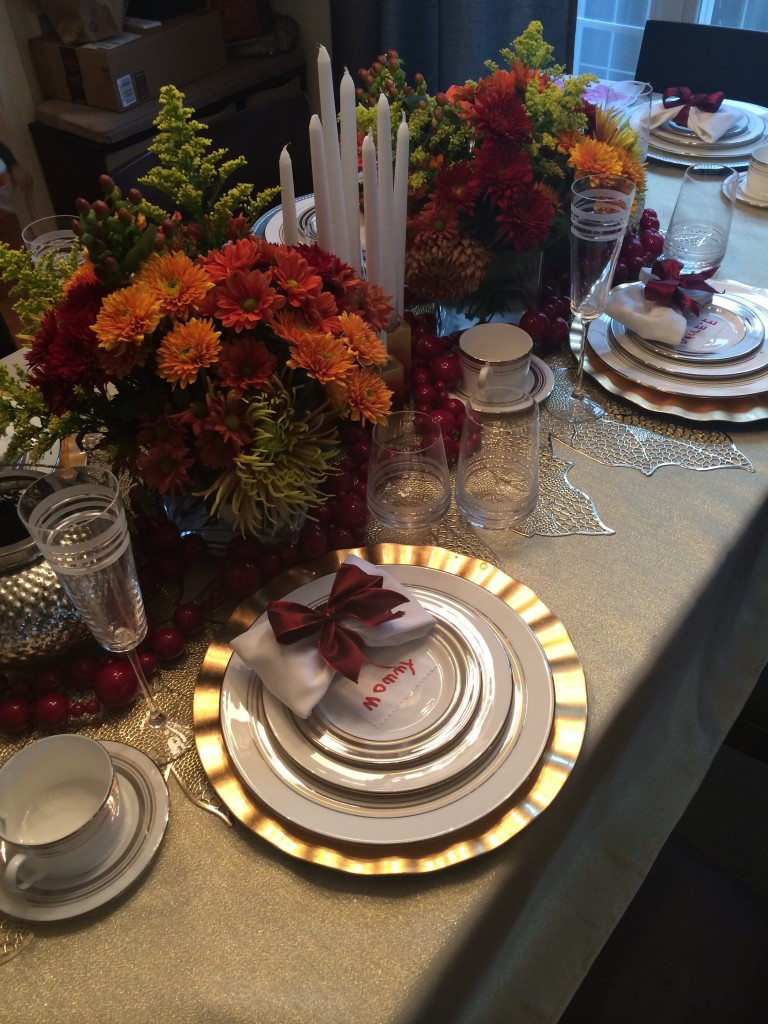 2014 Thanksgiving setting