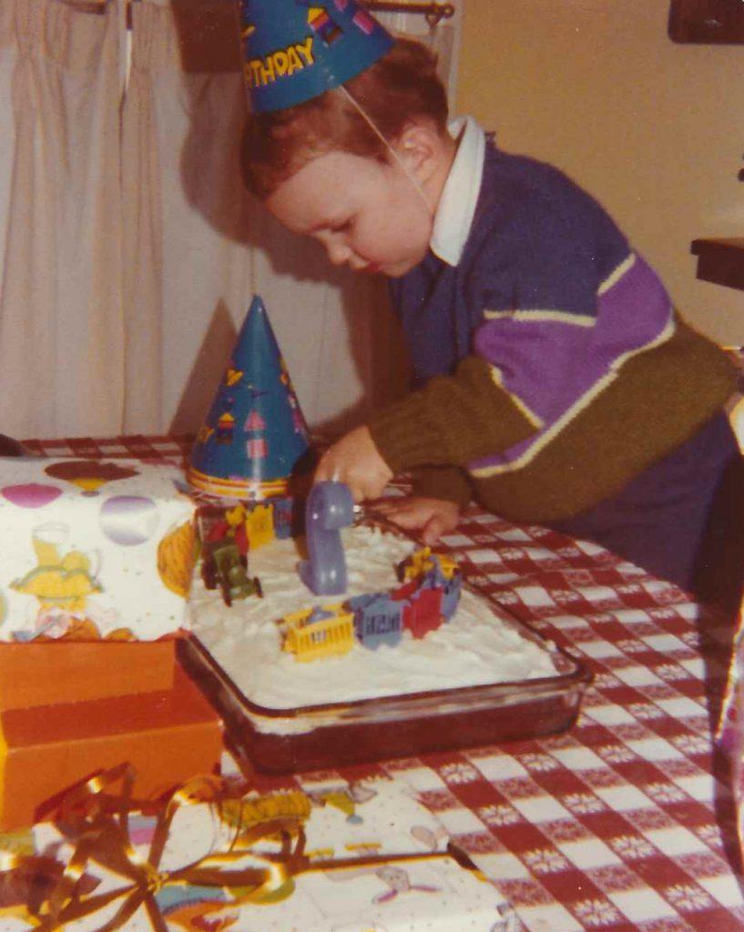 Adrian 2nd birthday cake