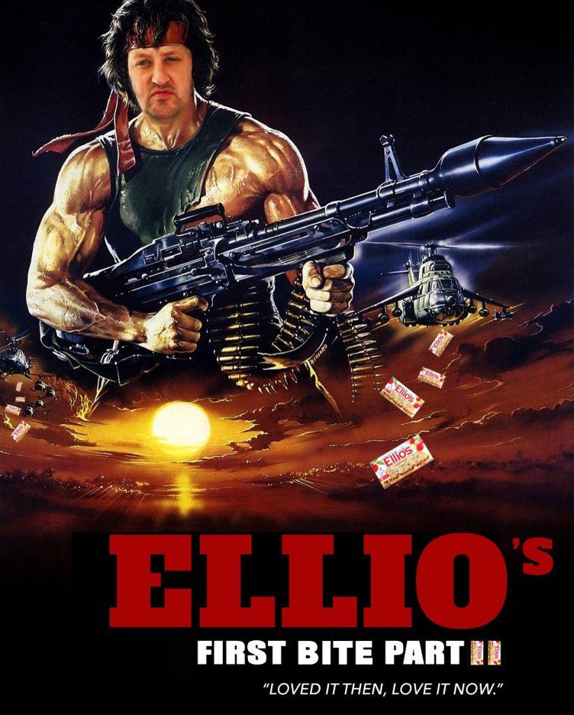 Adrian as Rambo