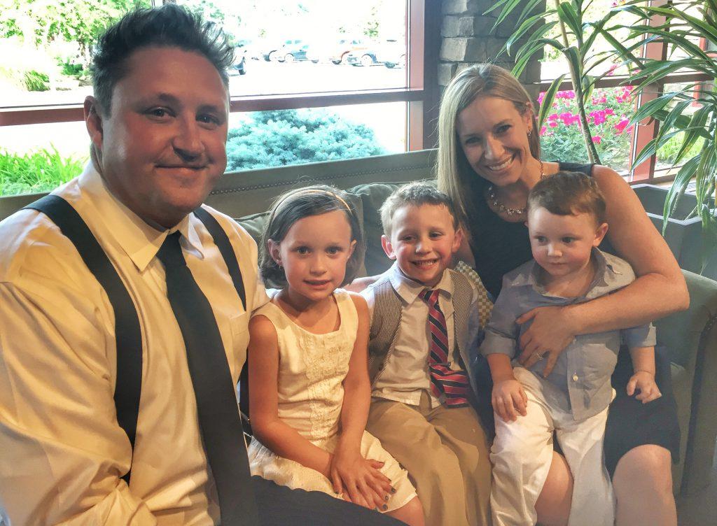 Kulp Family at wedding